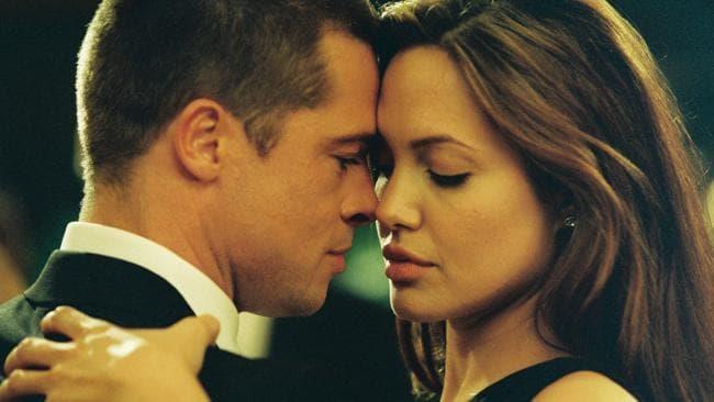 Angelina Jolie e Brad Pitt in Mr & Mrs Smith