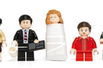 Le mini-figures LEGO di Twin Peaks