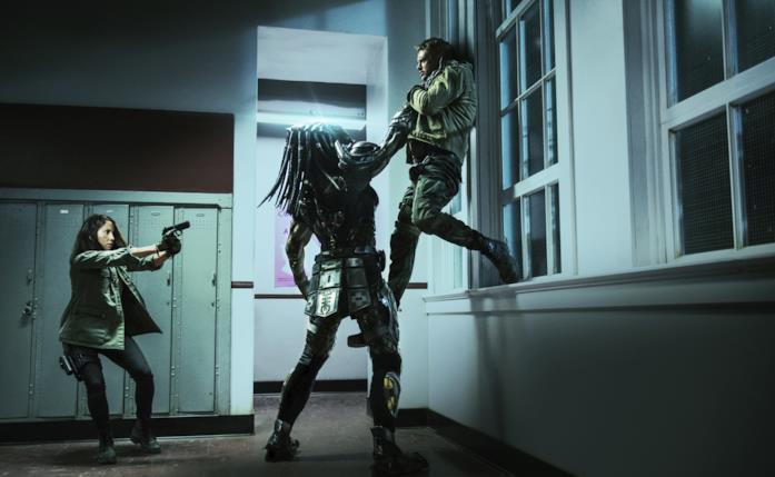 Una scena del film di Shane Black