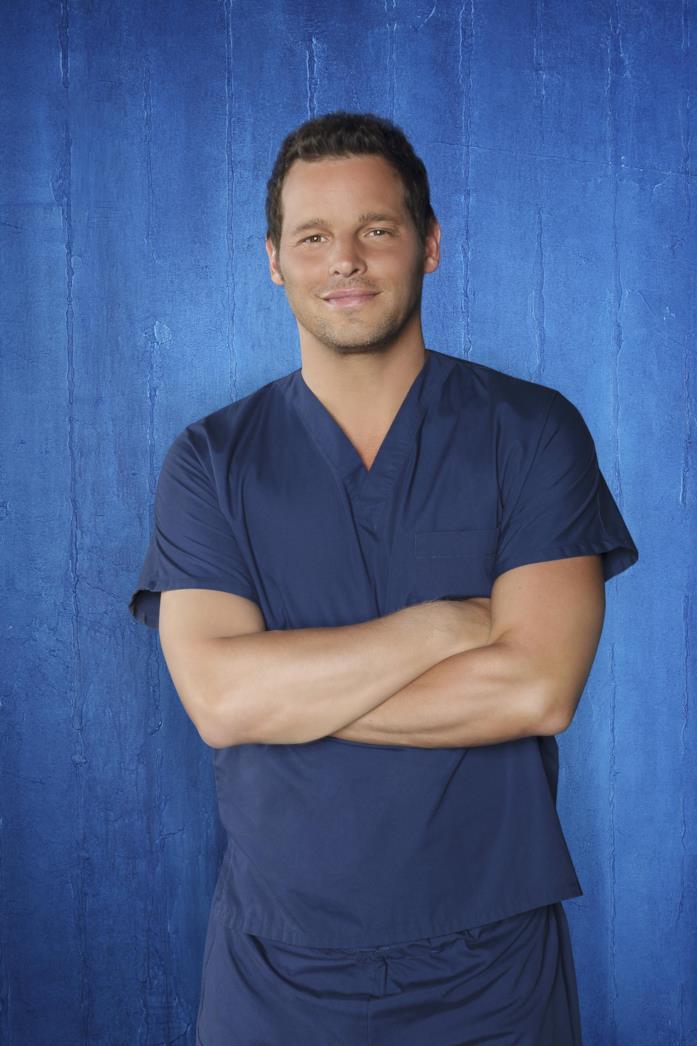 Justin Chambers è Alex Karev in Grey's Anatomy