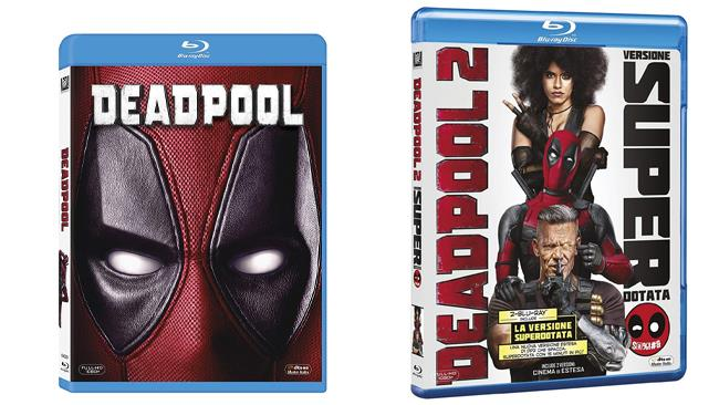 Deadpool e Deadpool 2 - i due film in formato Blu-ray