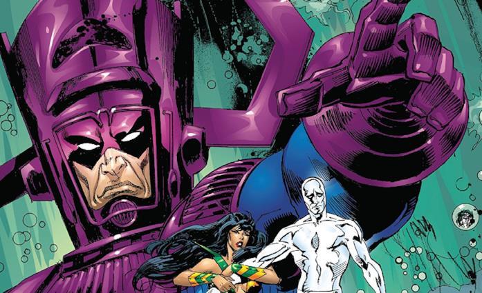 Dettaglio della cover di Galactus The Devourer