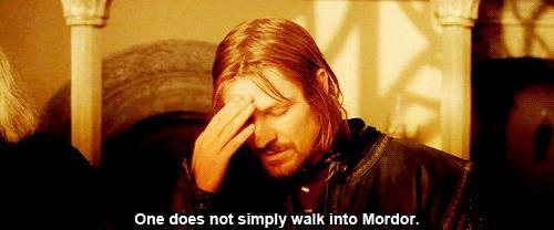 Boromir ne Il Signore degli Anelli