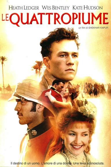 Poster Le quattro piume