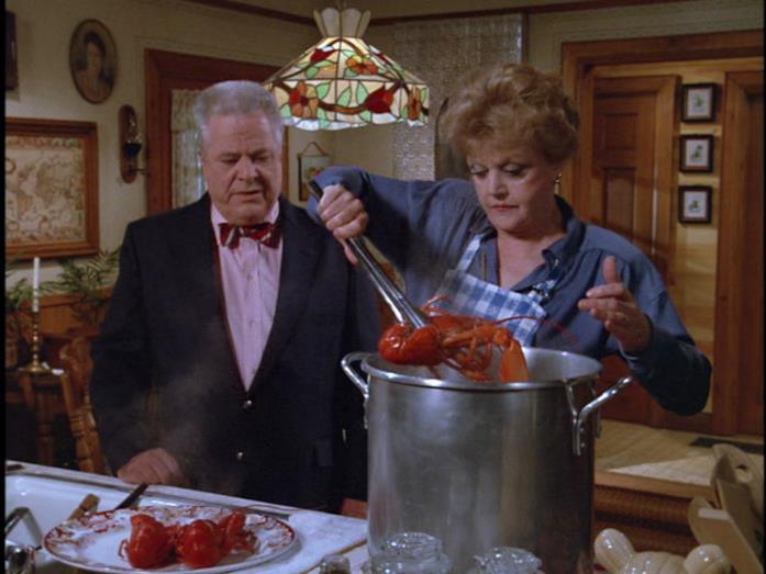 Un'immagine che ritrae Jessica e il suo amico Seth mentre cucinano