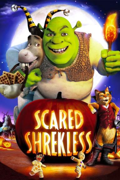 Poster Scared Shrekless - Shrekkato da morire