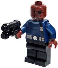 LEGO Mini Figure Nick Fury