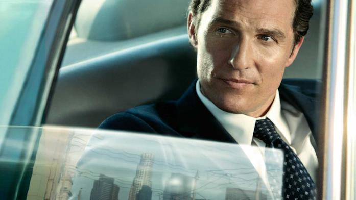 Matthew McConaughey in una scena del film The Lincoln Lawyer