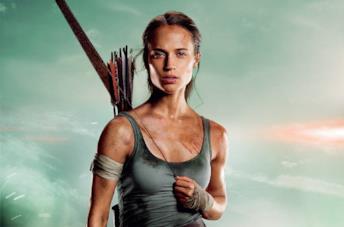 Alicia Vikander come Lara Croft