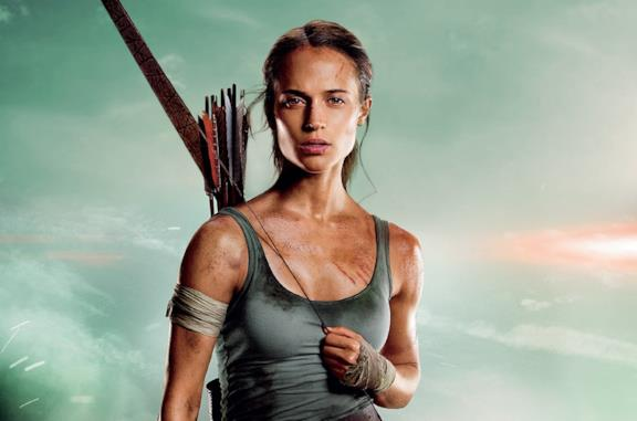 Alicia Vikander come Lara Croft
