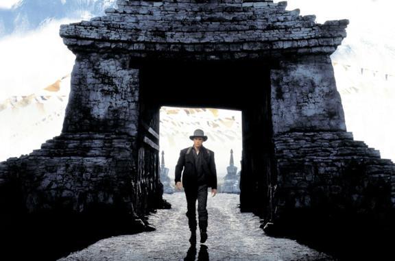 Brad Pitt è Heinrich Harrer in Sette anni in Tibet