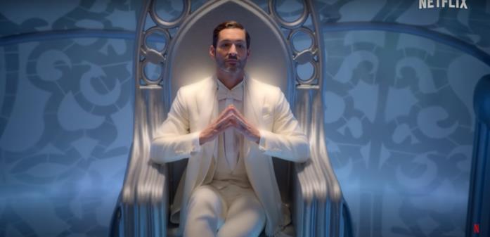 Lucifer nei panni di Dio nel trailer della stagione finale