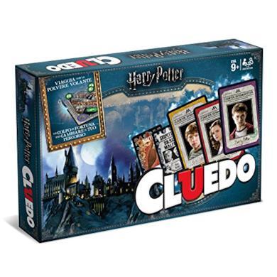 Winning Moves 02400 Gioco da Tavolo-Cluedo Harry Potter Edizione da Collezione, Italian version