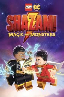 Poster LEGO DC Shazam! - Shazam contro Black Adam
