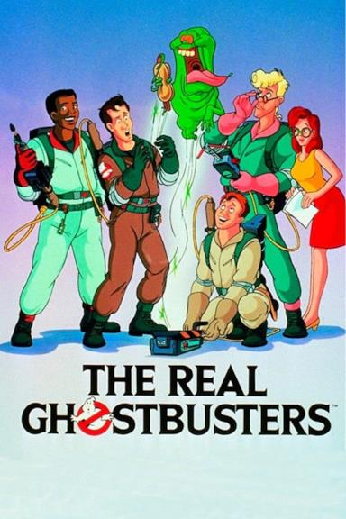 Poster The Real Ghostbusters - I veri acchiappafantasmi