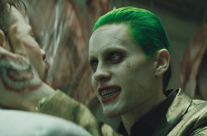 Jared Leto come Joker in Suicide Squad