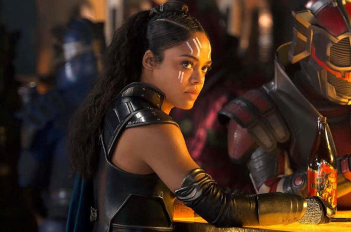 Un'immagine di Valchiria in Thor: Ragnarok