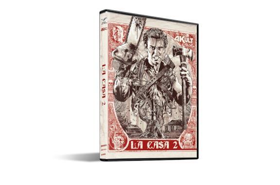 L'edizione 4K UHD de La Casa 2 di Sam Raimi