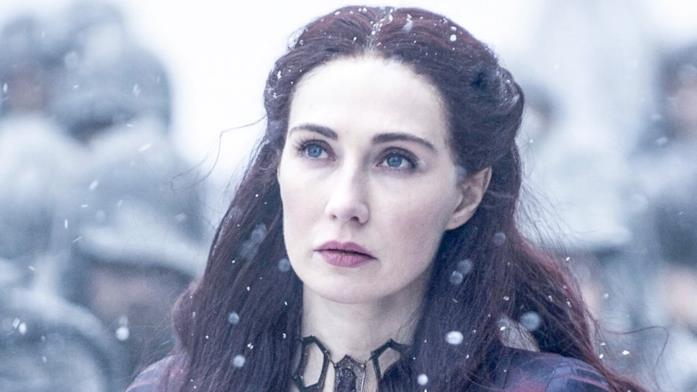 Carice van Houten nei panni di Lady Melisandre