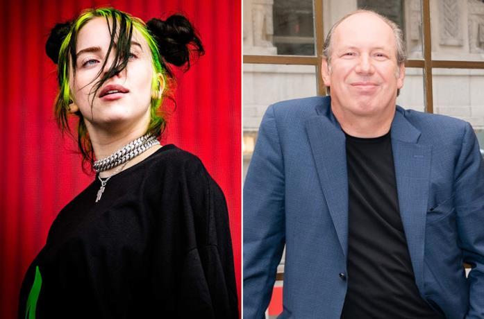 Billie Eilish e Hans Zimmer in occasione di due eventi