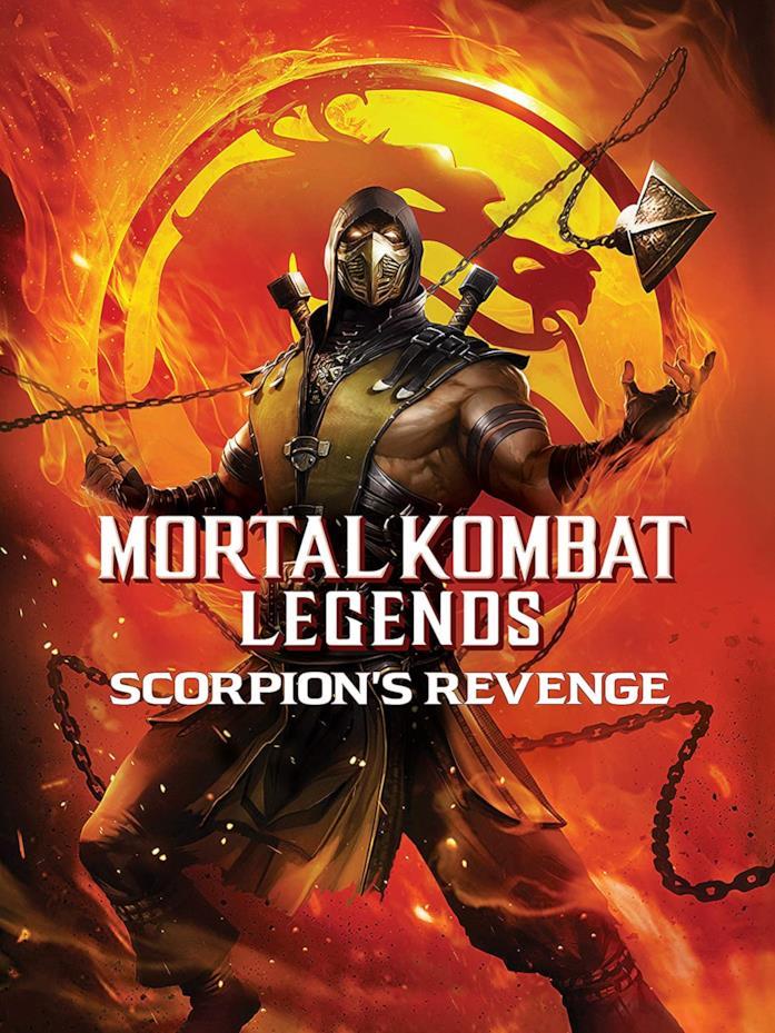 Promo art di Mortal Kombat Legends: Scorpion's Revenge