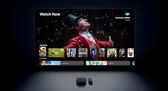 Immagine promozionale di Apple TV 4K
