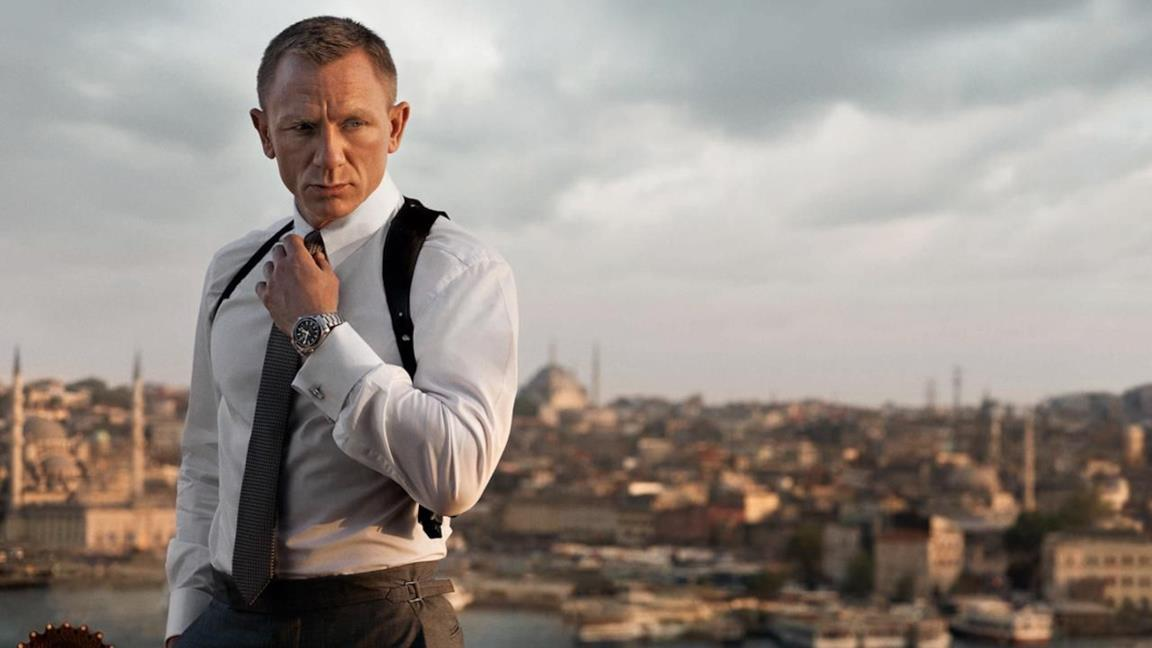 Daniel Craig è James Bond in Skyfall