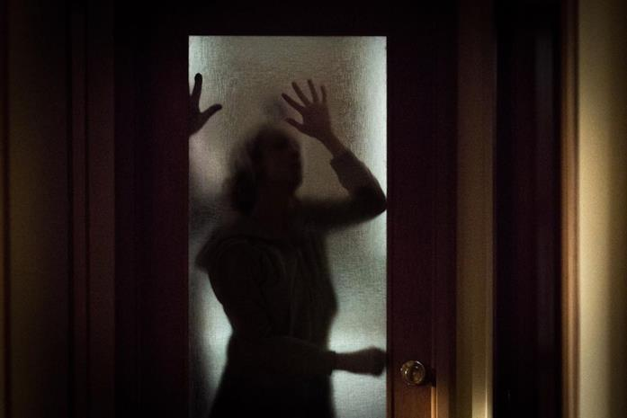 Una scena del film The Grudge