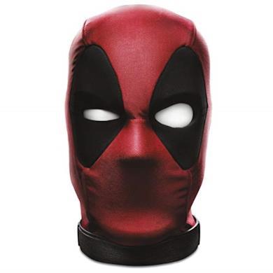 Marvel Legends Series - Testa Interattiva di Deadpool (Articolo da Collezione elettronico, Si muove e Parla con Oltre 600 Effetti sonori e Frasi ed interagisce con l'app Ufficiale)