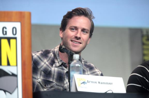Armie Hammer al San Diego Comic Con 2015