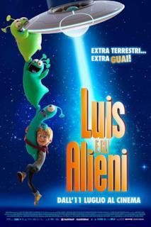 Poster Luis e gli Alieni