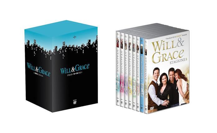 Copertina del cofanetto DVD di Will & Grace