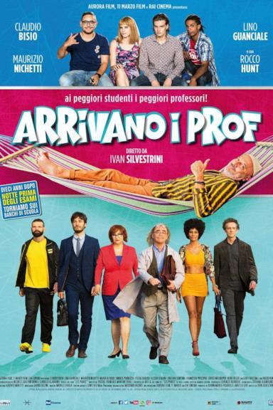 Poster Arrivano i prof