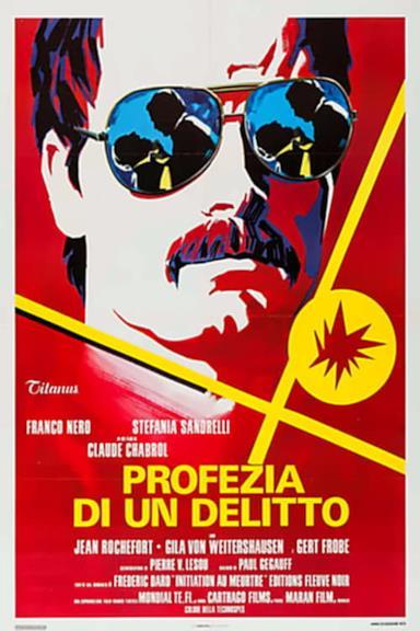 Poster Profezia di un delitto