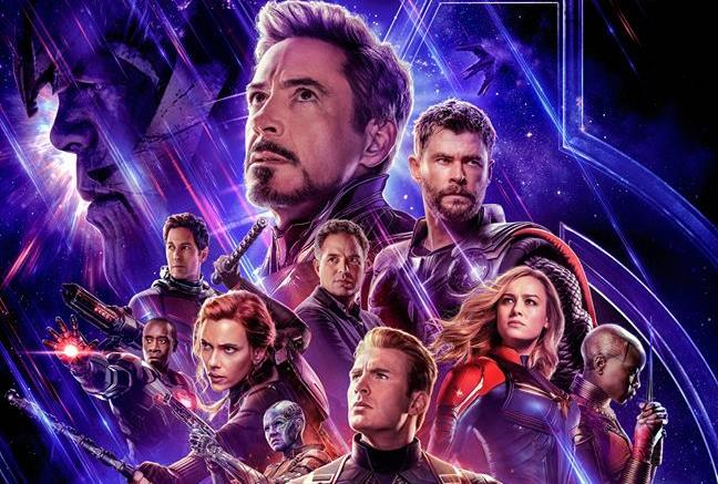 Poster ufficiale di Avengers: Endgame