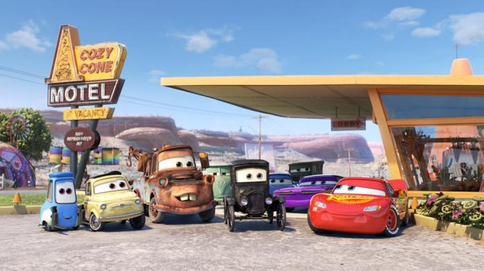 I protagonisti di Cars