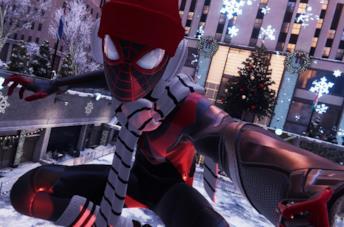 Miles Morales a Rockefeller Center in Marvel's Spider-Man: Miles Morales