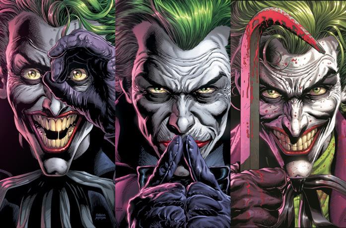 Batman: Three Jokers, l'immagine usata per una delle copertine del fumetto