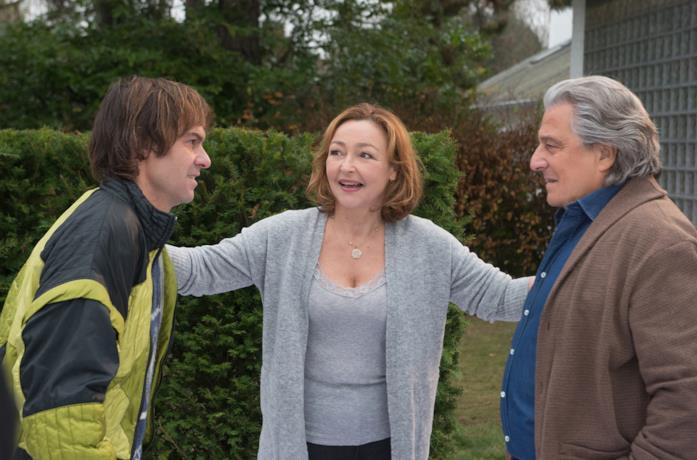 Sébastien Thiéry, Catherine Frot e Christian Clavier in Un figlio all'improvviso