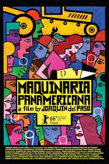 Poster Maquinaria Panamericana