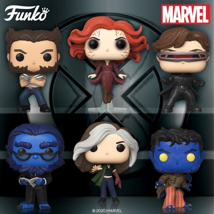Wolverine, Jean, Ciclope, Bestia, Rogue e Nightcrawler