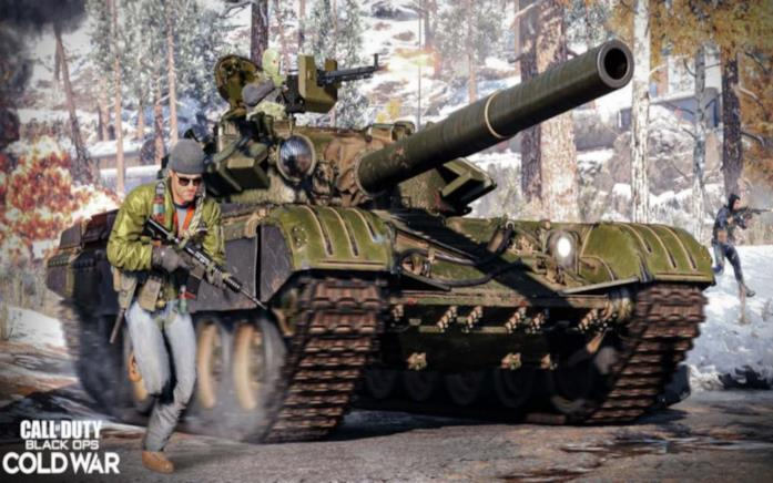COD Cold War carri armati