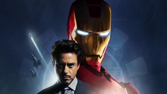 Immagine promozionale di Iron Man del 2008