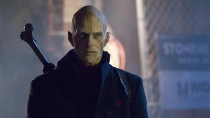 Il mezzosangue Quinlan è interpretato dall'attore Rupert Penry-Jones
