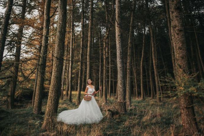L'abito da sposa ispirato a Biancaneve