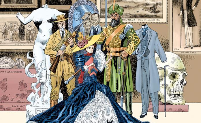 I protagonisti del fumetto di Alan Moore La Lega degli Straordinari Gentlemen