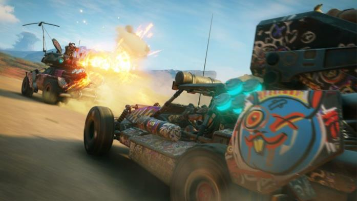 Rage 2 veicoli da battaglia