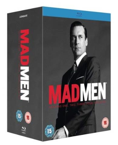 Cofanetto Blu-ray di Mad Men - Seasons 1-6