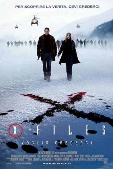 Poster X-Files - Voglio crederci
