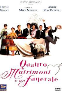 Poster Quattro matrimoni e un funerale